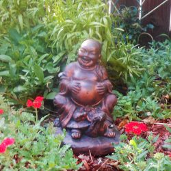 Laughing Buddha for the Garden