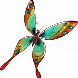 outdoor butterfly wall decor