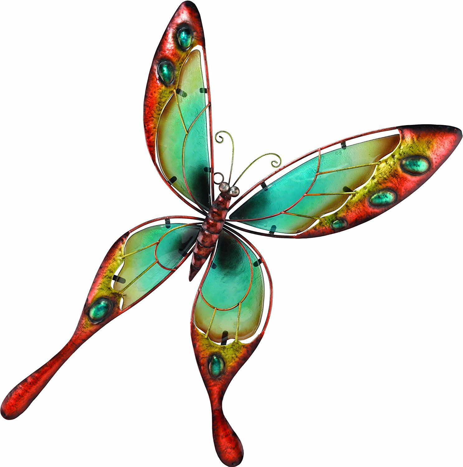 Outdoor butterfly wall decor metal makes the difference for Outdoor butterfly decor