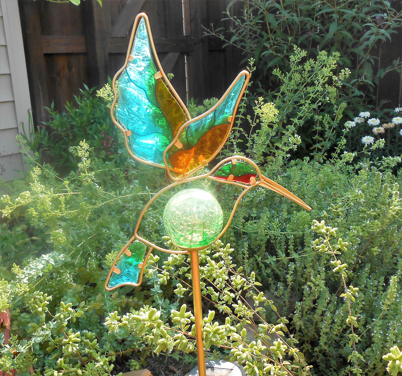 Hummingbird Solar Light