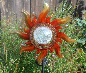 Crackle Globe Solar Lights