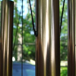 large tube wind chime