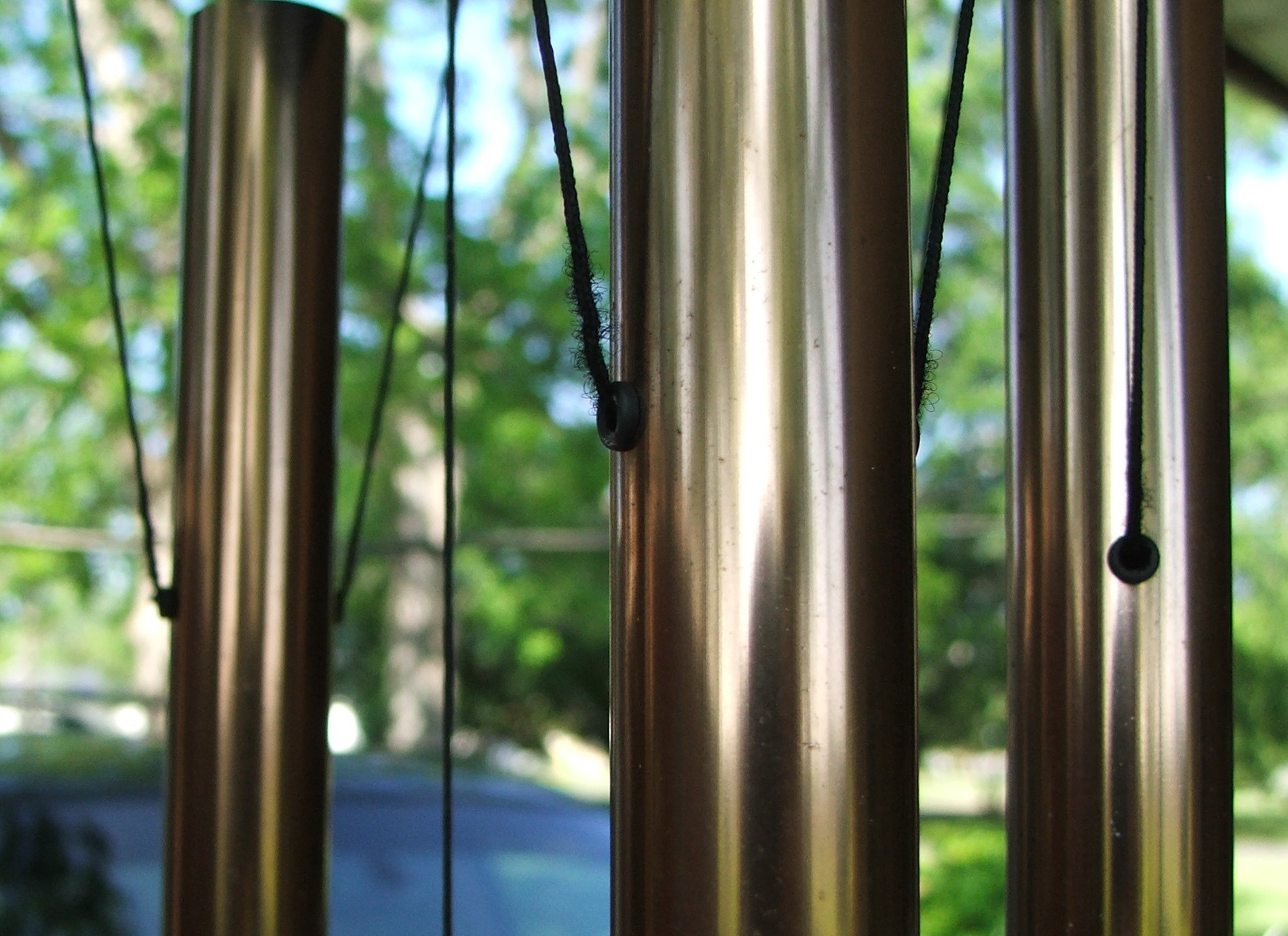 Large tube wind chimes sweet music for your garden Garden tube