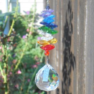 Crystal Prism Suncatchers