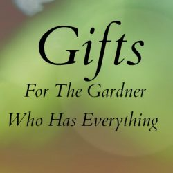 gifts for the gardener who has everything