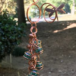 Decorating with wind chimes