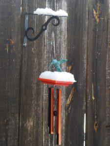 Hummingbird Wind Chimes