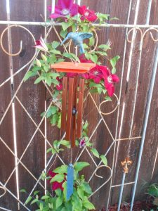 Wind Chimes with Hummingbirds