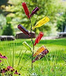 bottle tree yard art